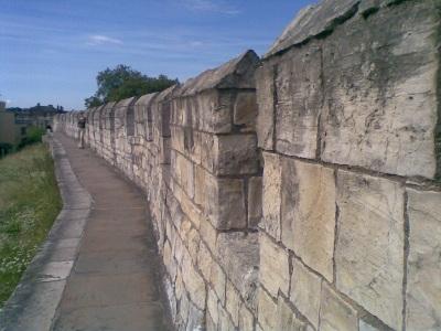 York city walls - really rather inspiring