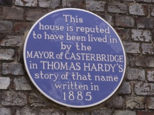 Seriously, Dorchester, he didn't live there. Because he wasn't real. (photo courtesy of Elliot Brown via Flickr creative commons attribution licence)
