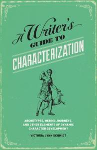 A Writer's Guide To Characterisation - available in soothing mint green