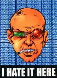 Spider Jerusalem - a writer's writer, if that writer is a drug-addled psycho