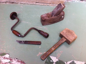 My Grandad's tools - a working piece of family history