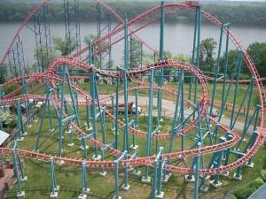 That's not my rollercoaster, sadly. Photo by Rene Schwietzke via Flickr creative commons