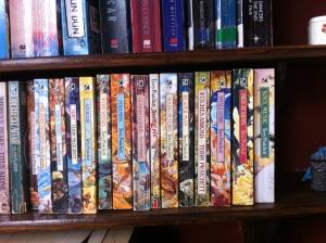 Just part of my pile of Pratchett