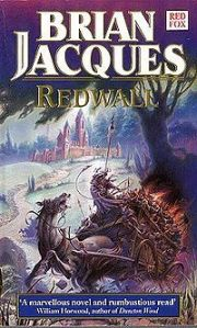 The cover of the edition of Redwall I read - still creeping me out after all these years