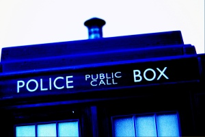That's my Tardis, it's paintwork is blue!