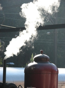Letting off some real steam - picture by Peter Shanks via Flickr creative commons