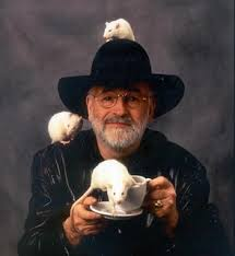 Terry Pratchett, creator of my favourite fictional university