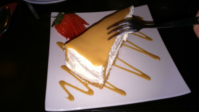 Finally, the best cheesecake I've ever tasted, and I eat a lot of cheesecake. If you're ever in Dorchester, check out the Old Tea House.