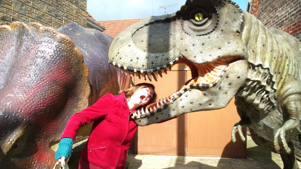 Walking with (slightly unconvincing) dinosaurs, great for ideas for monsters.