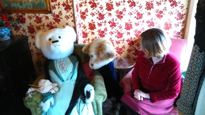 Dorchester's teddy bear museum, a place of the uncanny and terrible puns.